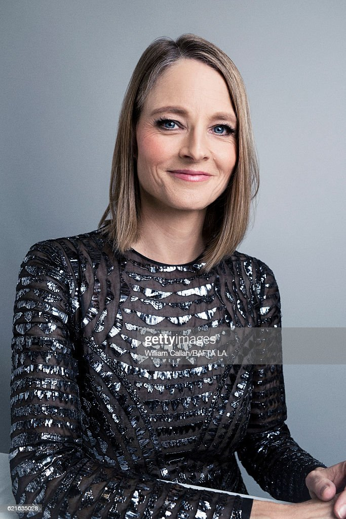 Actor and filmmaker Jodie Foster poses for a portrait at the 2016 AMD British Academy Britannia Awards presented by Jaguar Land Rover and American Airlines at The Beverly Hilton Hotel on October 28, 2016 in Beverly Hills, California.