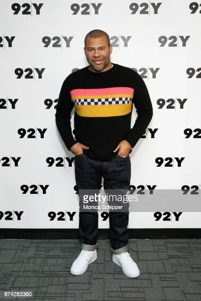 Actor and filmmaker Jordan Peele attends 92Y Presents Get Out Jordan Peele In Conversation With Seth Meyers at 92nd Street Y on November 14 2017 in...
