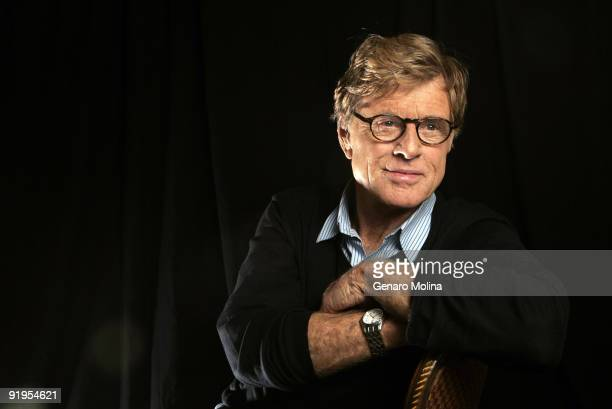 Actor and filmmaker Robert Redford is photographed in Los Angeles on November 1 2007 for the Los Angeles Times CREDIT MUST READ Genaro Molina/Los...