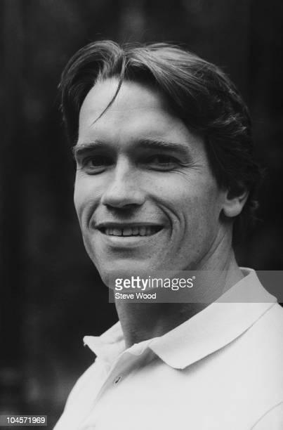 Actor and former bodybuilder Arnold Schwarzenegger on September 25 1984