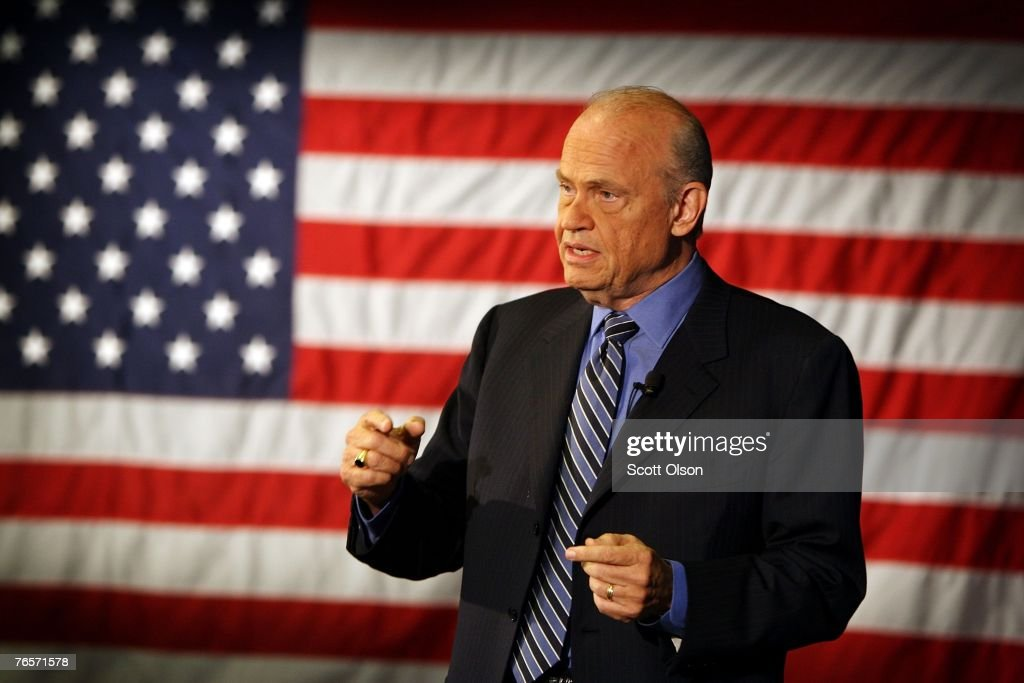 Fred Thompson Begins Presidential Campaign