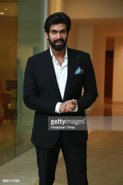 Actor and Game Changer Awardee Rana Daggubati during the Hindustan Times Game Changer Awards 2017 at Hotel Oberoi on May 24 2017 in Gurgaon India
