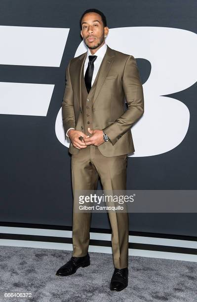 Actor and hip hop recording artist Ludacris attends 'The Fate Of The Furious' New York Premiere at Radio City Music Hall on April 8 2017 in New York...