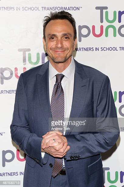 Actor and honoree Hank Azaria attends the Turnaround for Children's 5th Annual Impact Awards Dinner at Cipriani 42nd Street on April 30 2014 in New...