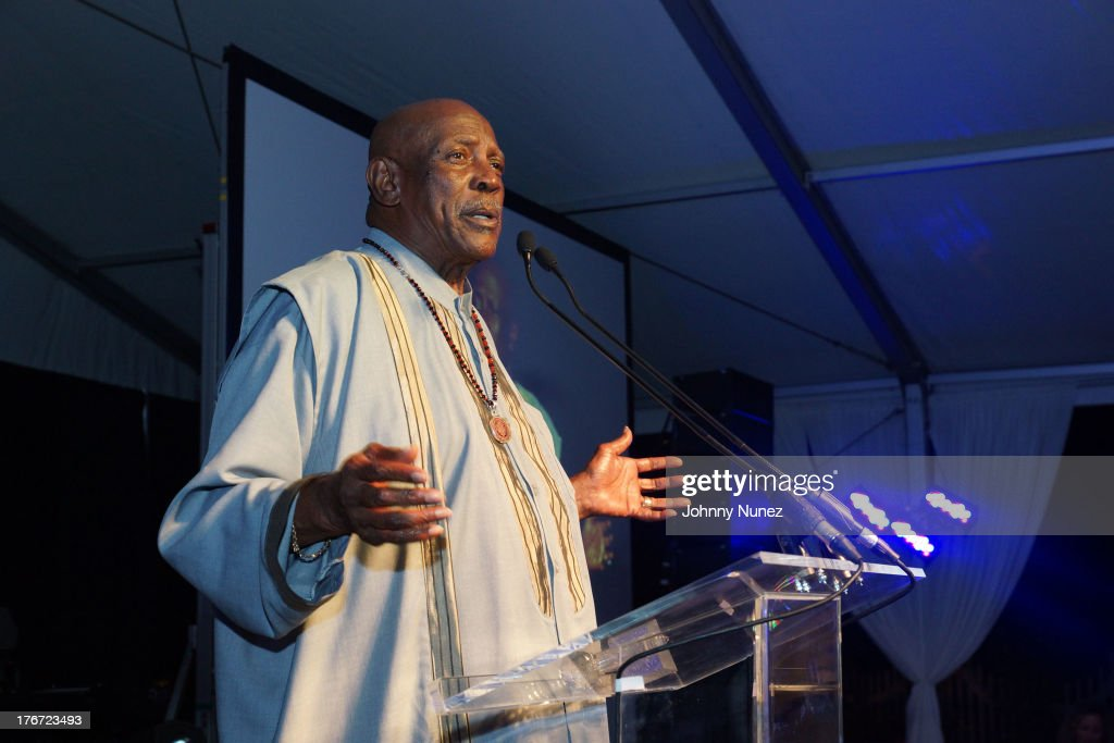 Actor and honoree Louis Gossett Jr. attends the 2nd annual Compound Foundation Fostering A Legacy Benefit on August 17, 2013 in East Hampton, New York.