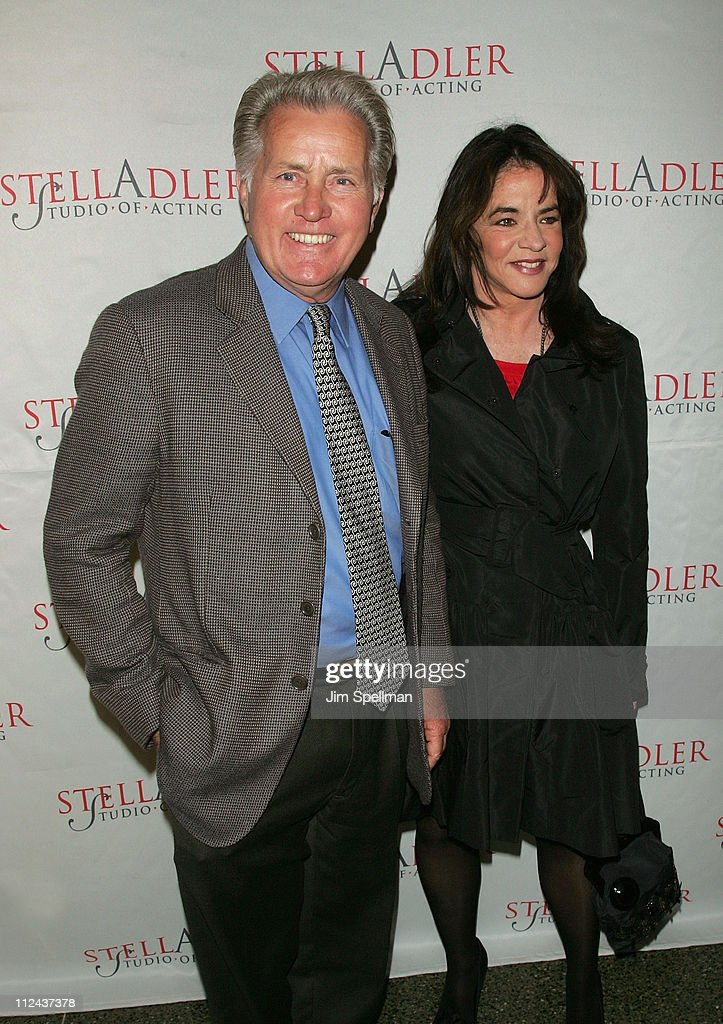 Actor and Honoree Martin Sheen and Actress Stockard Channing arrive at the 4th Annual Stella by Starlight Gala Benefit Honoring Martin Sheen at Cipriani 23rd Street on March 17, 2008 in New York City.