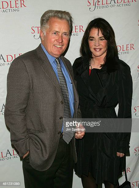 Actor and Honoree Martin Sheen and Actress Stockard Channing arrive at the 4th Annual Stella by Starlight Gala Benefit Honoring Martin Sheen at...