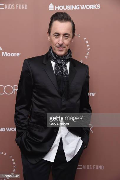 Actor and host Alan Cumming attends the Housing Works Ground Breaker Awards Dinner on April 26 2017 in New York City