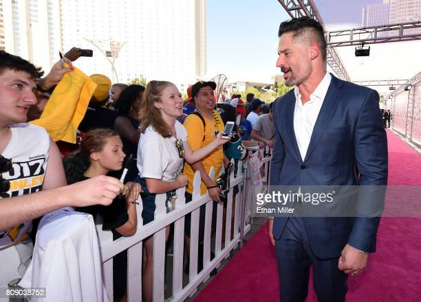 Actor and host Joe Manganiello attends the 2017 NHL Awards at TMobile Arena on June 21 2017 in Las Vegas Nevada