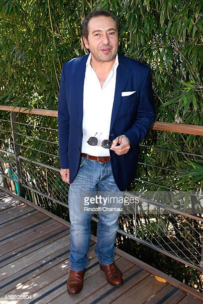 Actor and humorist Patrick Timsit attends the Roland Garros French Tennis Open 2014 Day 13 on June 6 2014 in Paris France