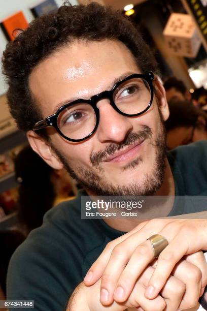Actor and Humorist Vincent Dedienne poses during a portrait session in Paris France on
