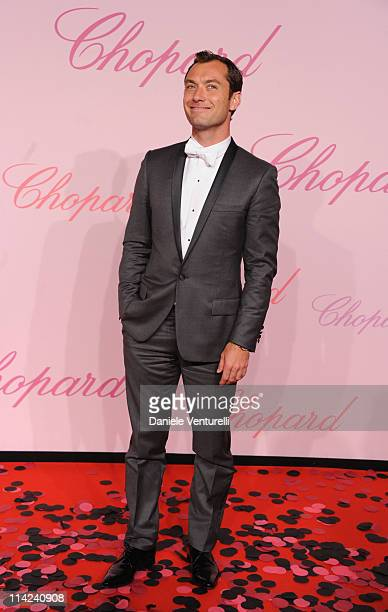 Actor and jury member Jude Law attends the Chopard 'Happy Diamonds Are A Girl's Best Friend' Party during the 64th Annual Cannes Film Festival at the...