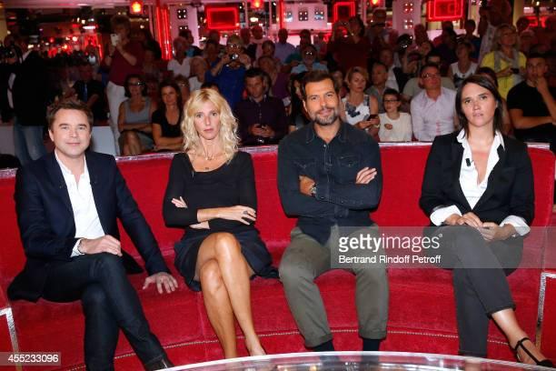 Actor and main guest Guillaume de Tonquedec for the TV series 'Fais pas ci fais pas ça' and the theater play 'Un diner d'adieu' Team of movie 'Elle...