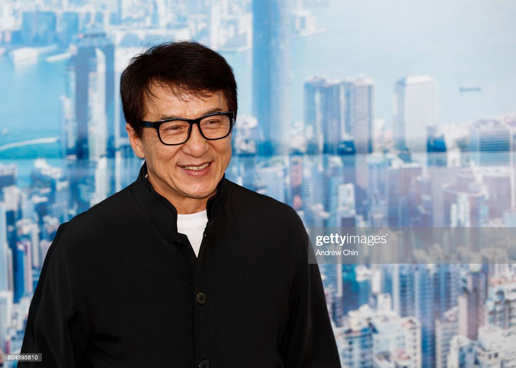 Jackie Chan Celebrates Hong Kong Airlines' Inaugural Flight To Vancouver, BC