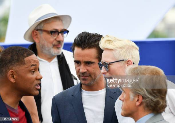 US actor and member of the Feature Film jury Will Smith Palestinian director Elia Suleiman Irish actor Colin Farrell British actress Tilda Swinton...