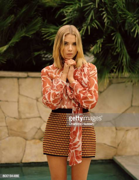 Actor and model Ashley Benson is photographed for Wonderland magazine on January 10 2015 in Los Angeles California