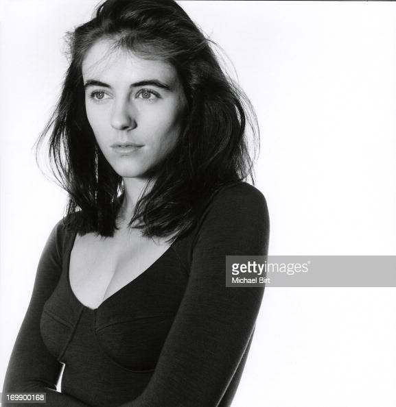 Actor and model Elizabeth Hurley is photographed on August 20 1989 in London England
