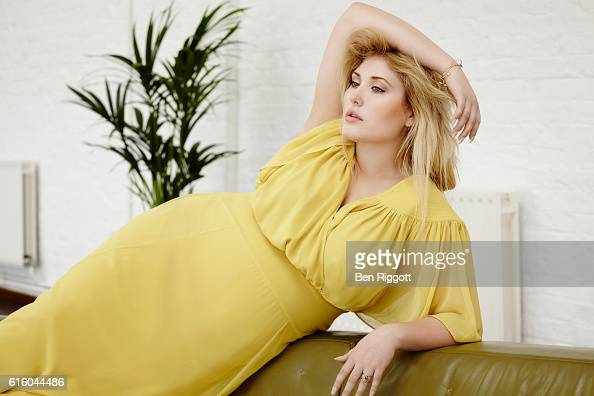 Actor and model Hayley Hasselhoff is photographed for Closer magazine on August 20 2015 in London England