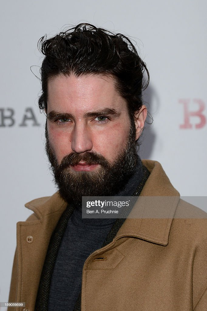Actor and model Jack Guinness attends the 'BALLY Celebrates 60 Years of Conquering Everest' at Bedford Square Gardens on January 7, 2013 in London, England.