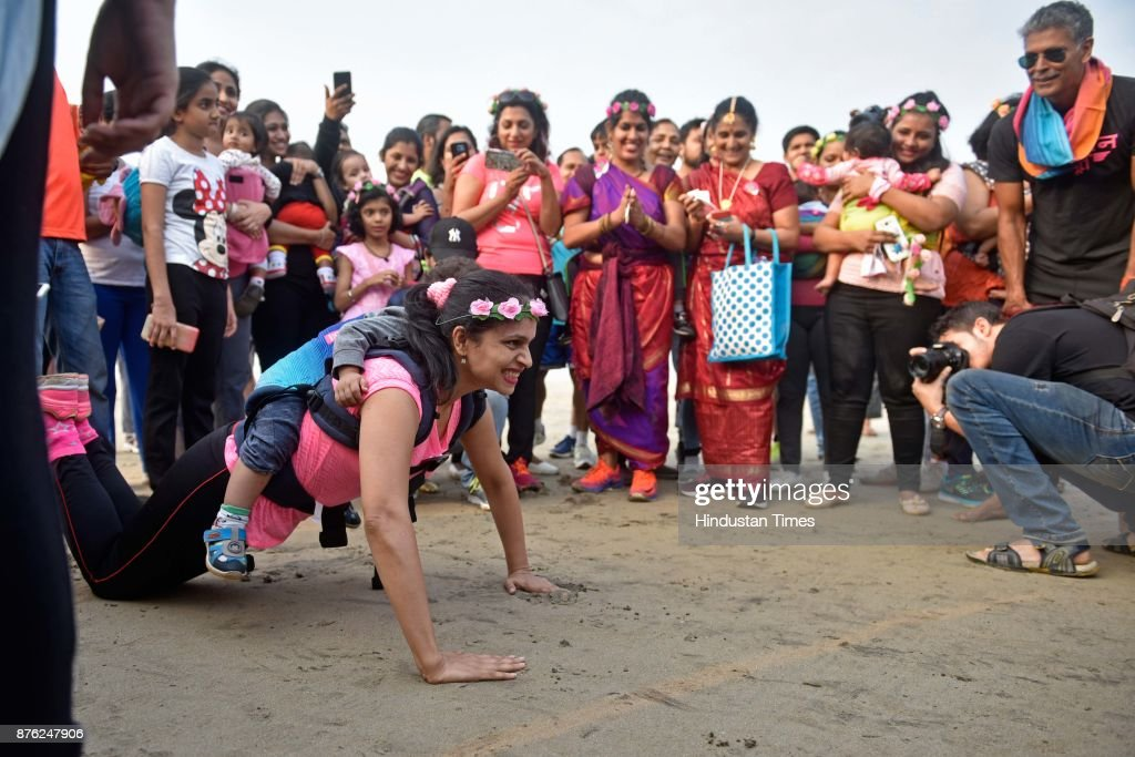 Baby-Wearing Super Moms Event Organised By By Colors Pinkathon