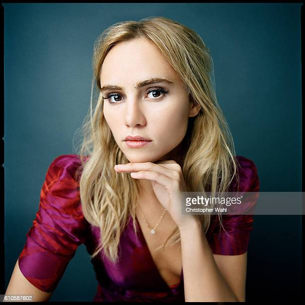 Actor and model Suki Waterhouse is photographed for The Globe and Mail on September 12 2016 in Los Angeles California