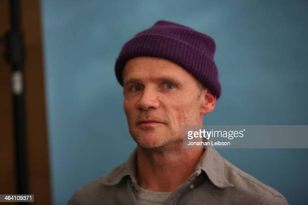 Actor and musician Flea attends The Variety Studio Sundance Edition Presented By Dawn Levy on January 20 2014 in Park City Utah