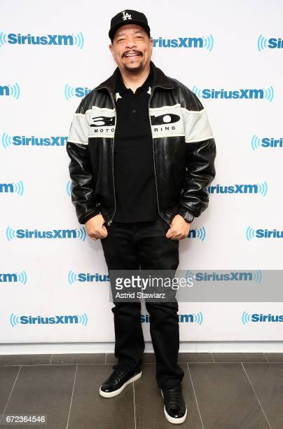 Actor and musician IceT visits the SiriusXM Studios on April 24 2017 in New York City