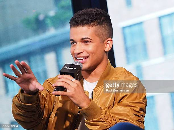 Actor and musician Jordan Fisher attends AOL Build Speaker Series to discuss His New Single 'All About US' at AOL HQ on July 19 2016 in New York City