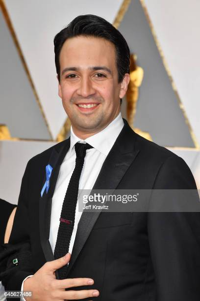 Actor and musician LinManuel Miranda attends the 89th Annual Academy Awards at Hollywood Highland Center on February 26 2017 in Hollywood California