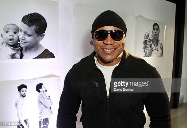 Actor and musician LL Cool J attends Street Poets 20th Anniversary Celebration Event at Smashbox Studios on May 9 2015 in Culver City California