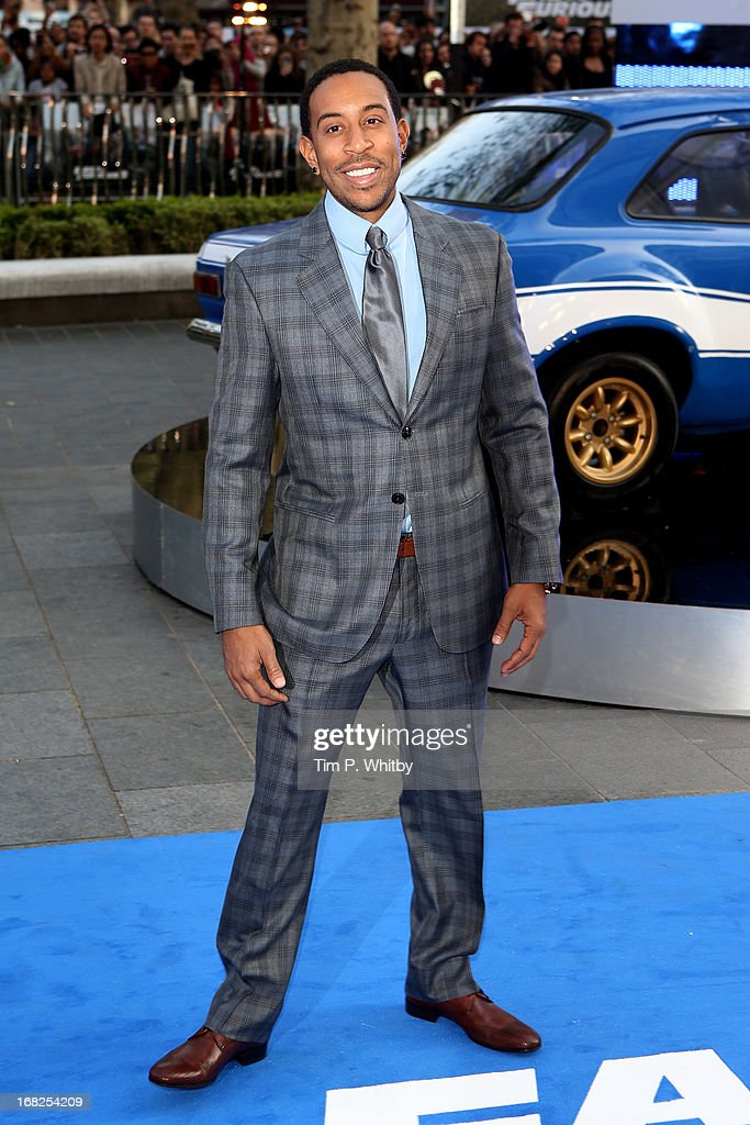 Actor and Musician <a gi-track='captionPersonalityLinkClicked' href=/galleries/search?phrase=Ludacris&family=editorial&specificpeople=203034 ng-click='$event.stopPropagation()'>Ludacris</a> attends the World Premiere of 'Fast & Furious 6' at Empire Leicester Square on May 7, 2013 in London, England.