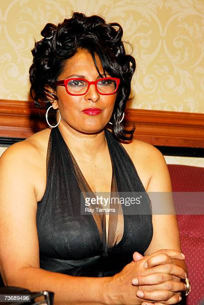 Actor and NABOB Pioneer In Entertainment Award honoree Pam Grier attends NABOB's 23rd Annual Communications Awards Dinner at Marriott's Wardman Park...
