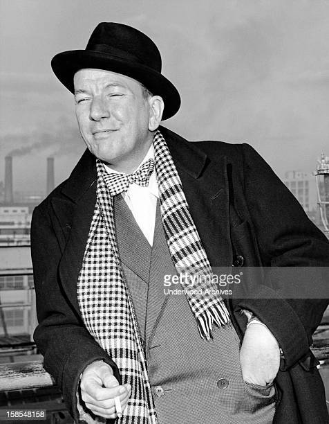 Actor and playwright Noel Coward sailed today aboard the Queen Elizabeth New York New York March 7 1947