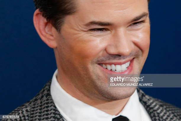 Actor and presenter Andrew Rannells attends the 28th Annual GLAAD Media Awards on May 6 2017 in New York / AFP PHOTO / EDUARDO MUNOZ ALVAREZ