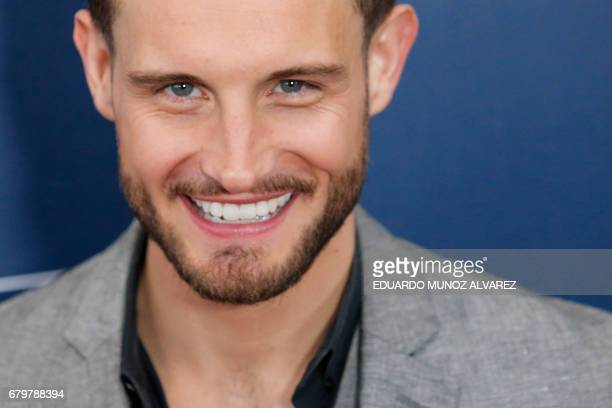 Actor and presenter Nico Tortorella attends the 28th Annual GLAAD Media Awards on May 6 2017 in New York / AFP PHOTO / EDUARDO MUNOZ ALVAREZ