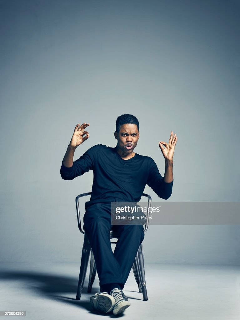 Actor and producer Chris Rock is photographed for The Hollywood Reporter on October 24, 2014 in Los Angeles, California.