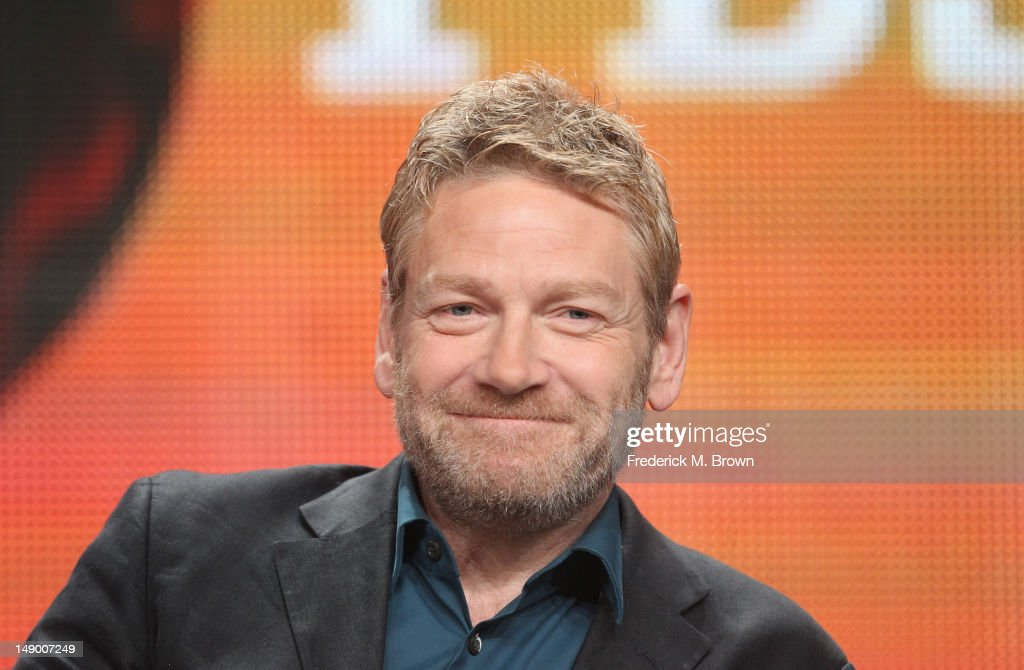 Actor and producer <a gi-track='captionPersonalityLinkClicked' href=/galleries/search?phrase=Kenneth+Branagh&family=editorial&specificpeople=213618 ng-click='$event.stopPropagation()'>Kenneth Branagh</a> speaks onstage at the Masterpiece Mystery! 'Wallander III' panel during day 1 of the PBS portion of the 2012 Summer TCA Tour held at the Beverly Hilton Hotel on July 21, 2012 in Beverly Hills, California.