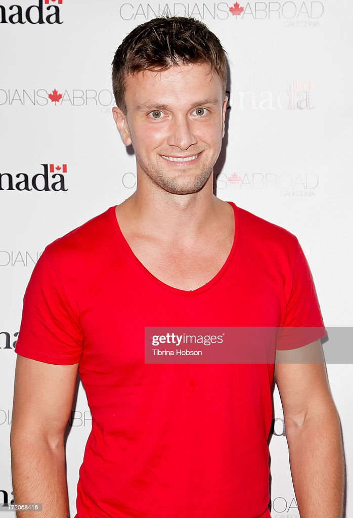 Actor and producer Kent Speakman attends the 2013 Canada Day in LA party at Wokano restaurant on June 30, 2013 in Santa Monica, California.