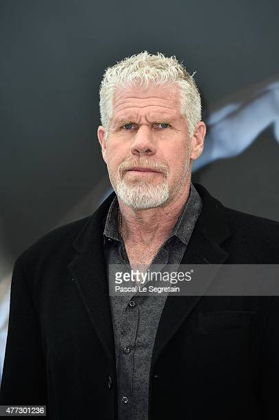 Actor and Producer Ron Perlman attends the 55th Monte Carlo TV Festival Day 4 on June 16 2015 in MonteCarlo Monaco