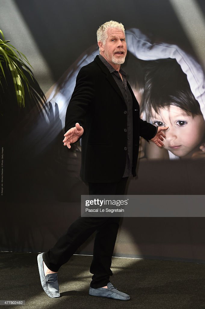 Actor and Producer Ron Perlman attends the 55th Monte Carlo TV Festival : Day 4 on June 16, 2015 in Monte-Carlo, Monaco.