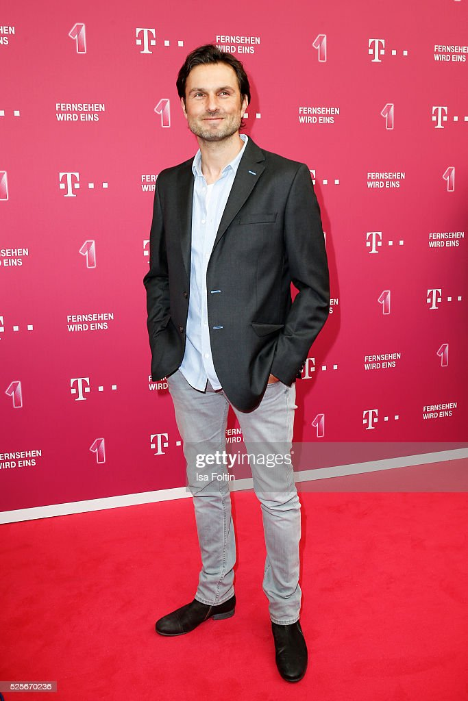 Actor and producer Simon Verhoeven attend the Telekom Entertain TV Night at Hotel Zoo on April 28, 2016 in Berlin, Germany.