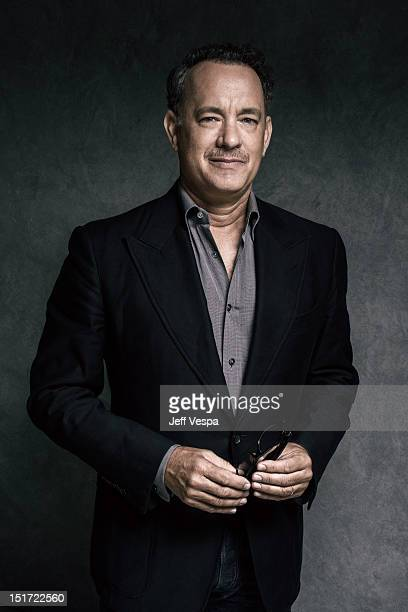 Actor and producer Tom Hanks is photographed at the Toronto Film Festival for Self Assignment on September 9 2012 in Toronto Ontario