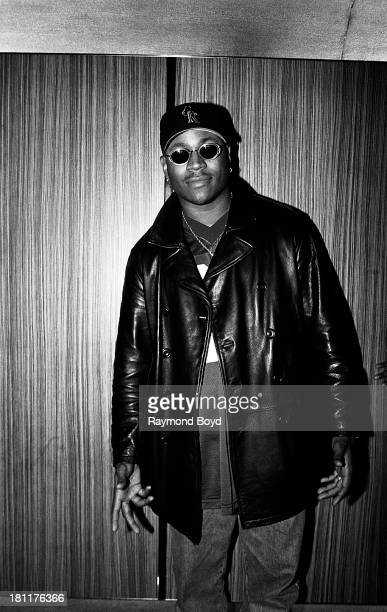 Actor and rapper LL Cool J poses for photos at the Hyatt Hotel in Chicago Illinois in MARCH 1993