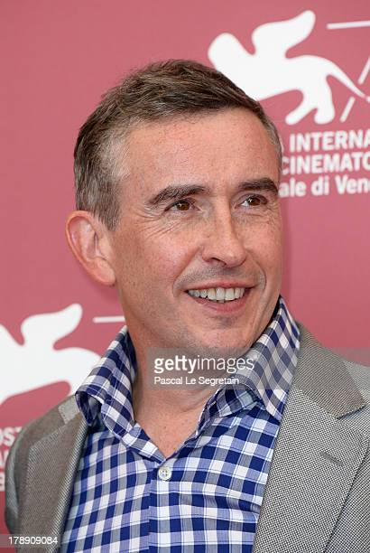 Actor and screenwriter Steve Coogan attends the 'Philomena' Photocall during the 70th Venice International Film Festival at the Palazzo del Casino on...