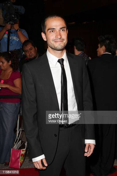 Actor and singer Alfonso Herrera attends the 2009 Ariel 51 awards at Auditorio Nacional on March 31 2009 in Mexico City
