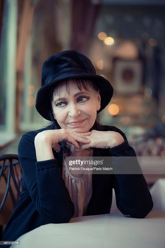 Actor and singer Anna Karina is photographed for Paris Match on December 15, 2013 in Paris, France.