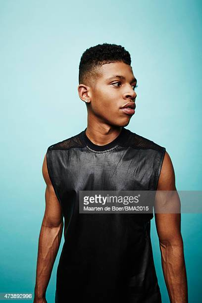 Actor and singer Bryshere Y Gray poses for a portrait at the 2015 Billboard Music Awards on May 17 2015 in Las Vegas Nevada