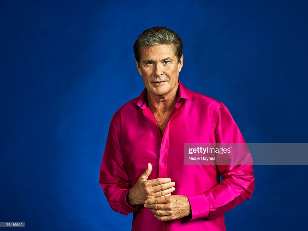 Actor and singer David Hasselhoff is photographed for Event magazine on May 20, 2015 in London, England.