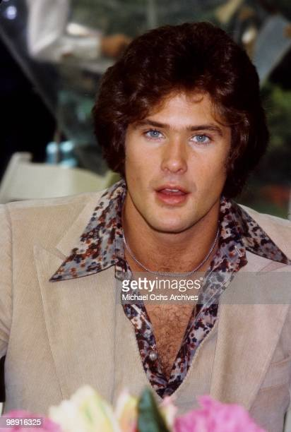 Actor and singer David Hasselhoff poses for a photo circa 1978 in Los Angeles California
