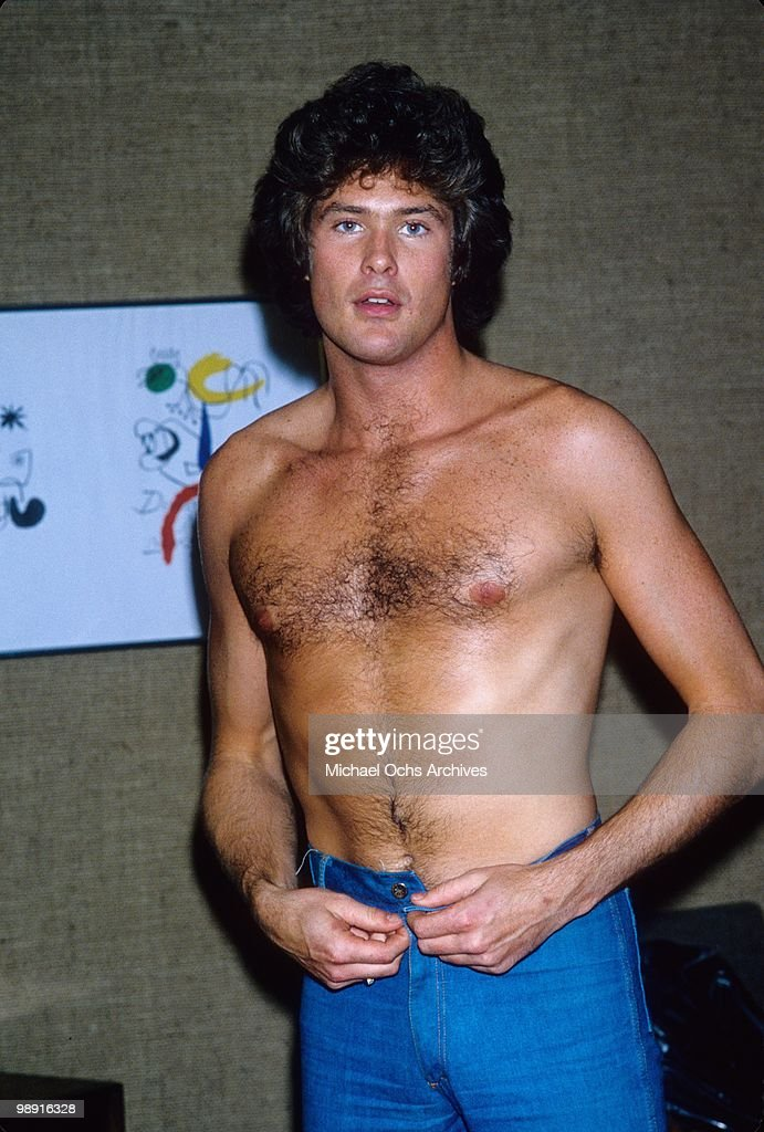 Actor and singer David Hasselhoff poses for a photo circa 1978 in Los Angeles, California.